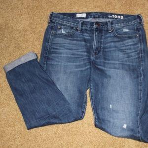 Gap 1969  Distressed Boyfriend Jeans